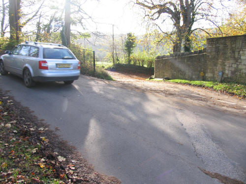 The Junction of Staples Hill with Iford Lane Somerset